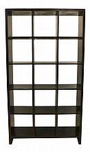 Wooden Shelf Bookcase w/ 15 Cubby Holes