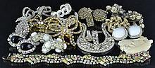 Designer Rhinestone Costume Jewelry & Ivory