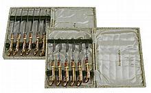 12 Pc. Royal Crown Derby Flatware Box Set
