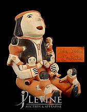 Cochita Native American Storyteller Pottery Figure