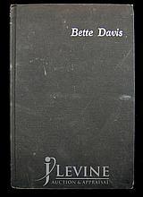 Bette Davis Book with Autograph & Sentiment