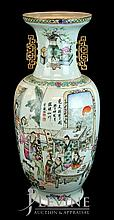 Chinese Ceramic Temple Vase w/o Stand #2