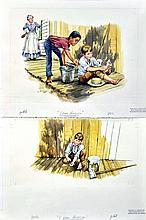 Michael Allen Hampshire (1933-2013) Illustration for