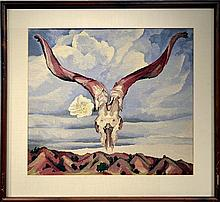 Michael Allen Hampshire (1933-2013) Framed
