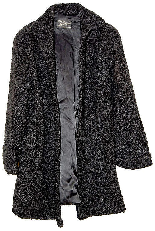 Black Persian Lamb Coat