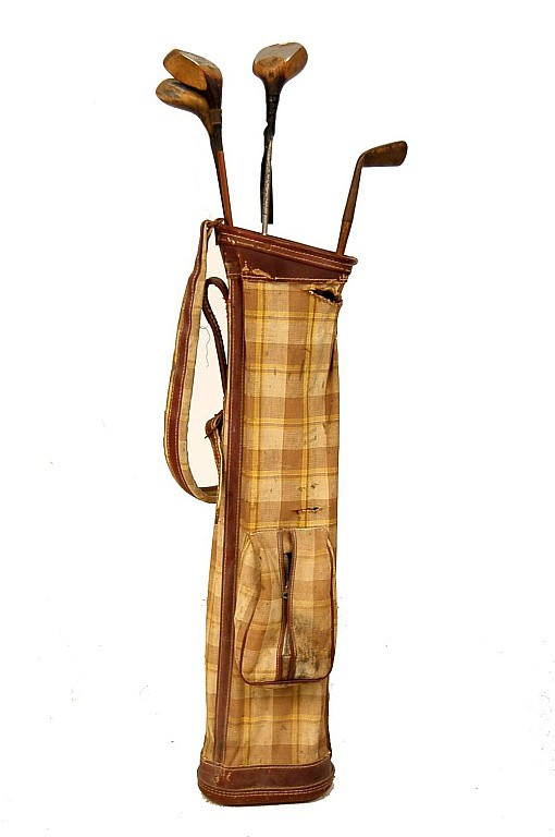 Vintage Set of Golf Clubs