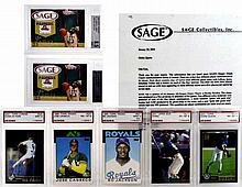 Graded Sports Cards: LeBron, Bo Jackson, IChiro