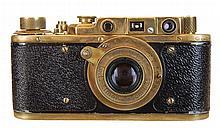 Leica German Luftwaffe Brass Camera w/ Case