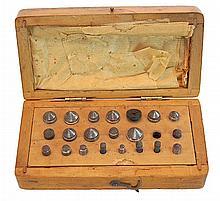 R & L Myers Co. Vintage Drill Bit Set w/ Case