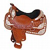 Circle Y Silver Plate Equitation Western Show Horse Saddle