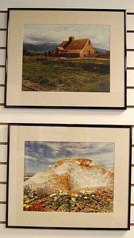 2 Framed Prints Home Decor