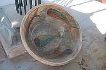 Large Terra Cotta Fish Planter