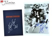 Walter Payton Signed Photograph & Sweetness Book