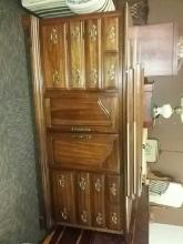 Drew 9 Drawer Solid Wood Construction Dresser With His And Hers Vertical Mirrors