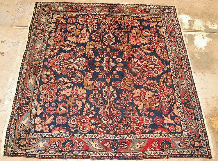 Hand Woven Area Rug  48