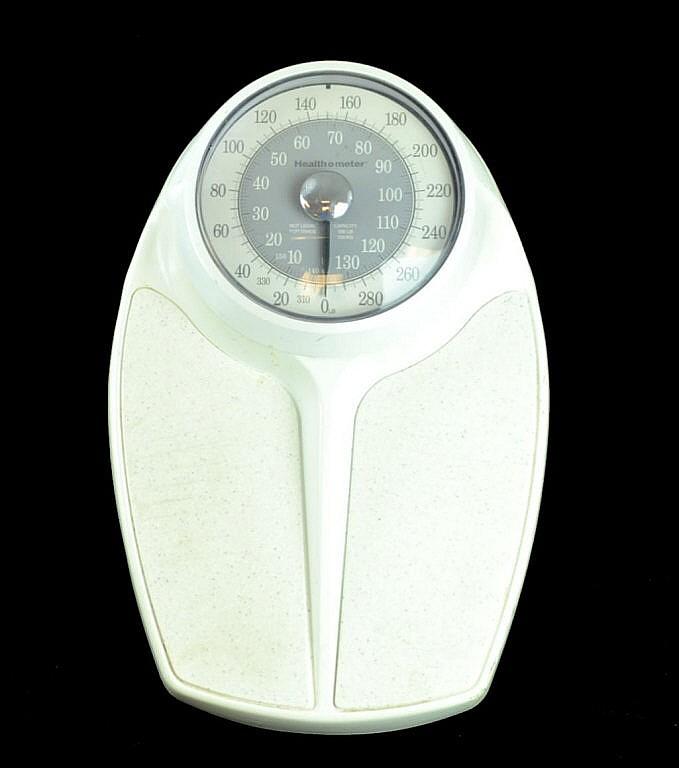 Healthometer bathroom scale.