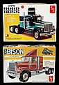 Vintage White Road Boss & Chevy Bison Model Kits