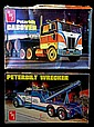 Vintage Peterbilt Cabover & Wrecker Model Kits