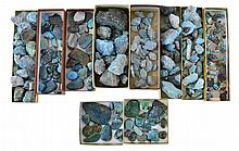 Huge Group of Loose Turquoise Stones/Nuggets
