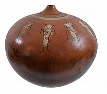 Large Southwestern Pottery Vessel