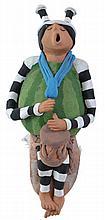 Juan Sandoval Kachina Pottery Figure