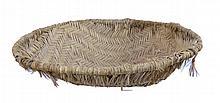 Large Native American Hopi Sifter Basket 28
