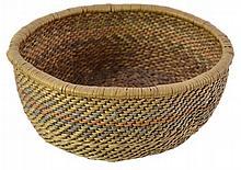 Vintage Native American Hand Woven Basket