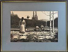 Asa Battles (1923 -) Native American