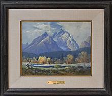 Ralph Love (1907-1992) Teton Fall