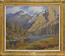 Charles Fritz (1955 -) Autumn Along The Bow River