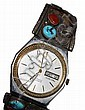 Bulova Watch with Thomas Carusetta Navajo Watch Band