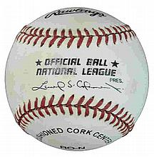 Henry Rodriquez Autographed Baseball