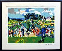LeRoy Neiman (b. 1927) April At Augusta