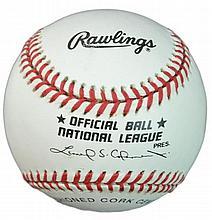 John Franco Autographed Baseball