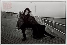 Annie Leibovitz (1949-) Lou Reed Laurie Anderson
