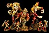 Morisken Tanzer (Morris Dancer) Lot