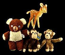 Stuffed Animals, Dakin Nature Babies, Steiff Deer