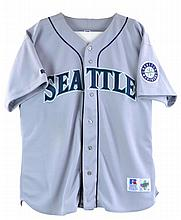 Ken Griffey Jr. Autographed Mariners Away Jersey