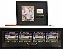 Arnold Palmer Signed Putter & Photo Lot