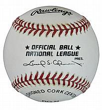 Ron Grant Autographed Baseball