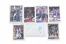 NBA Autograph Card Lot w/ W. Williams, K. Malone