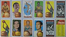 12 Pc. Vintage Basketball Card Lot w/ Jerry West