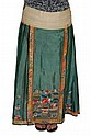 Chinese Embroidered Silk Wedding Skirt