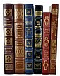(6) Easton Press Signed 1st Edition Leather Books