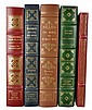 (5) Signed 1st Editions Easton Press & Franklin