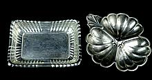 PAIR Sterling Silver Bowl Dish