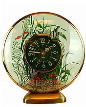 Old Sessions Fish Tank Motion Clock