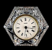 French Staiger Crystal Shelf Clock