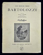 Les Douze Mois Bartolozzi Book of Etchings c. 1949