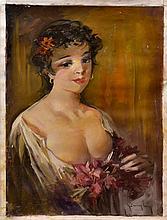 #13 Violetta de Koszeghy Oil on Canvas Painting